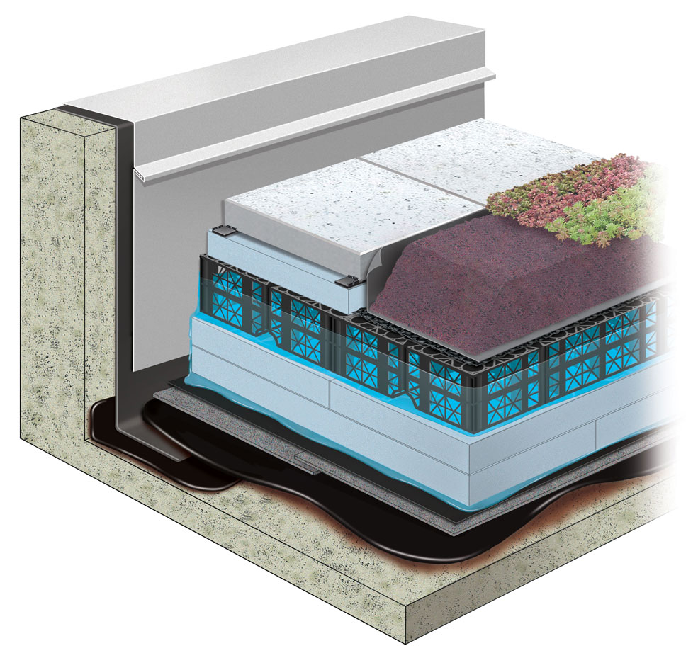 Pmr Assembly Blue Roofs Hydrotech Membrane Corp