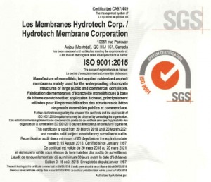 Waterproofing Installation - Hydrotech Membrane Corp
