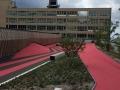 CHUSJ Esplanade, photo credit NIP Paysage